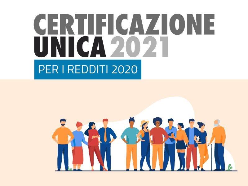 CU Lavoratori 2021 – redditi 2020
